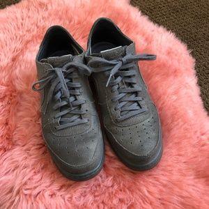 Grey Nike Air Force Sneakers